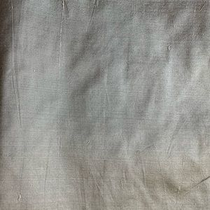 Pottery Barn Other - Pottery Barn silk shantung silvery gray pillow cov